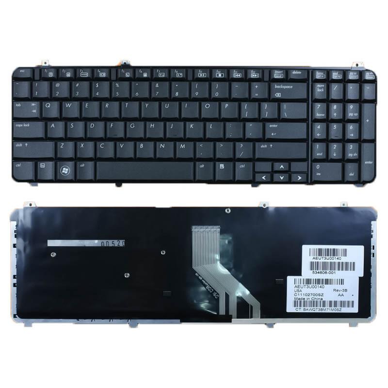 Клавиатура для ноутбука HP Pavilion DV6-1000 (черная, RU)
