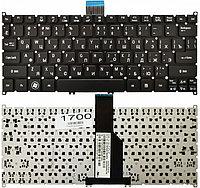 Клавиатура для ноутбука Acer Aspire TravelMate B1 (черная, RU)