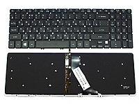 Клавиатура для ноутбука Acer Aspire V5-473 (черная с подсветкой, RU)