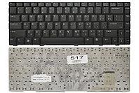 Клавиатура для ноутбука Asus W3 (черная, RU)