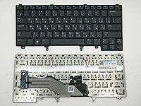 Клавиатура для ноутбука Dell Latitude E6220 (черная, RU)