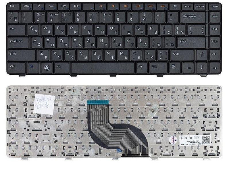 Клавиатура для ноутбука Dell Inspiron M5030 (черная, ENG)