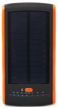 Универсальная cолнечная мобильная батарея PowerPlant/PB-S12000/12000mAh/