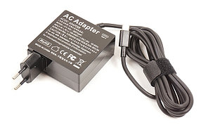 Блок питания для ноутбука USB Type-C, 5 В-20 В/ 65 Вт (3.25 А), универсальный