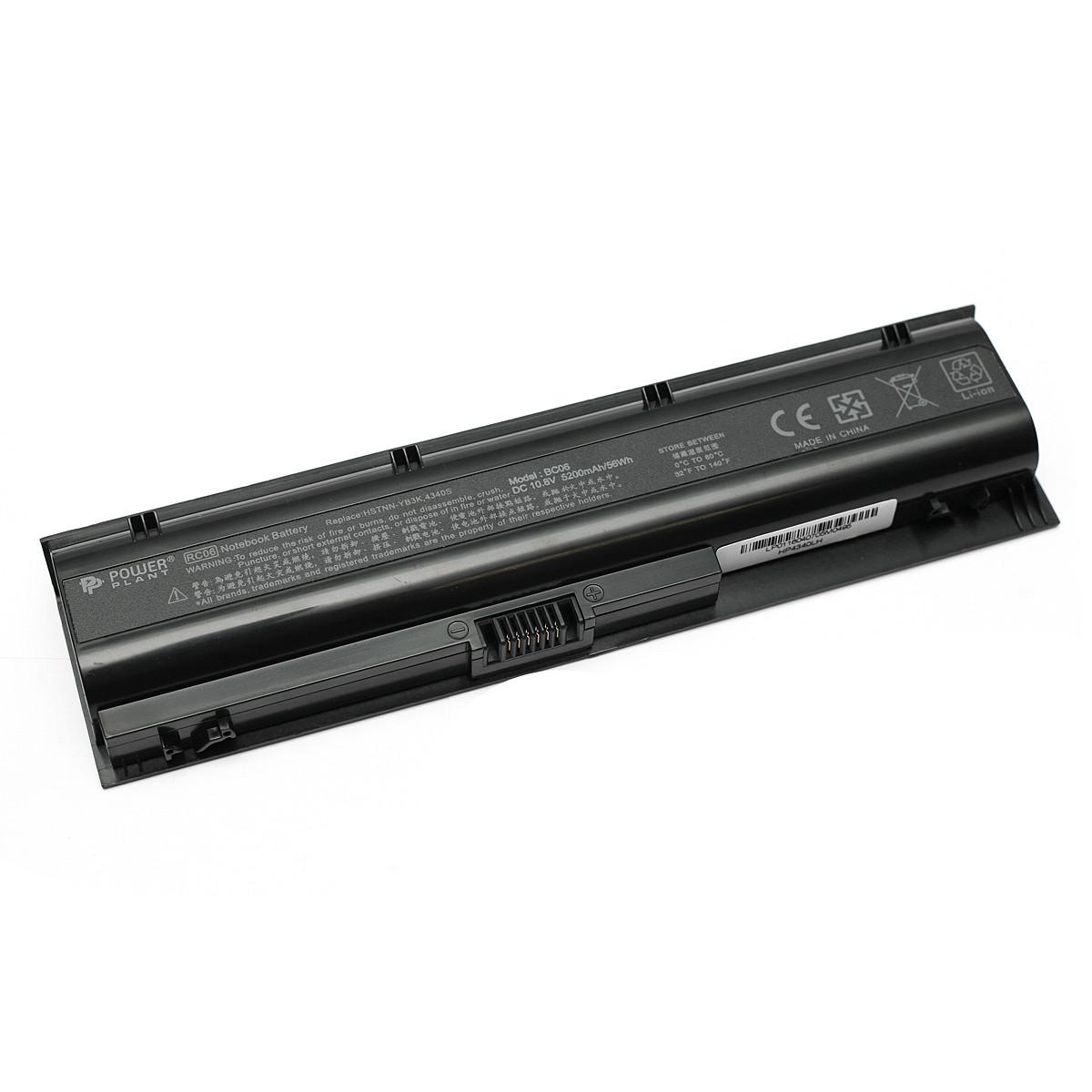 Аккумулятор PowerPlant для ноутбуков HP ProBook 4340s (HSTNN-YB3K, HP4340LH) 10.8V 5200mAh