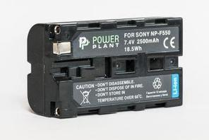 Aккумулятор PowerPlant Sony LED NP-F550 2500mAh