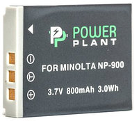 Аккумулятор PowerPlant Minolta NP-900, Li-80B 800mAh
