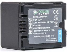 Аккумулятор PowerPlant Panasonic CGA-DU14 1900mAh
