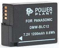 Аккумулятор PowerPlant Panasonic DMW-BLC12, DMW-GH2 1200mAh