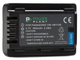 Аккумулятор PowerPlant Panasonic VW-VBY100 900mAh
