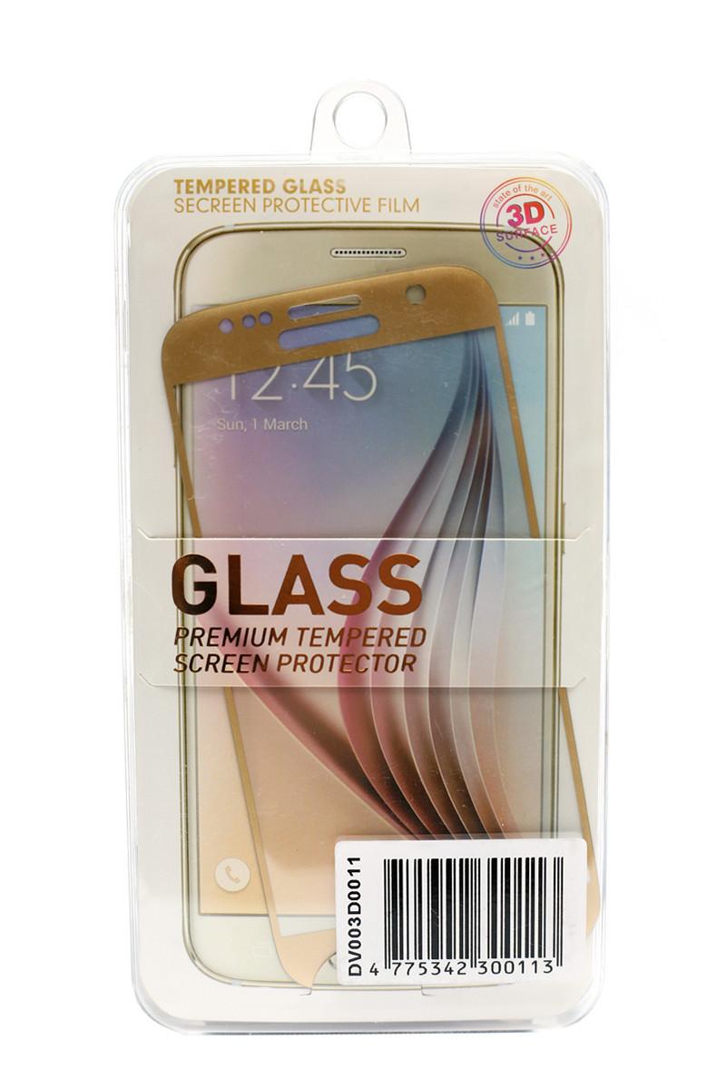 Защитное стекло 3D PowerPlant для Samsung S7 Gold