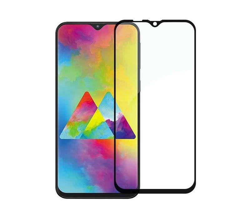 Защитное стекло Full screen PowerPlant для Samsung Galaxy M20, Black