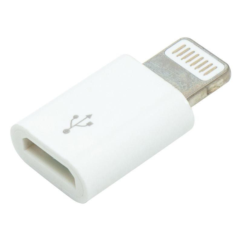Переходник PowerPlant Micro - iPhone 5 8pin