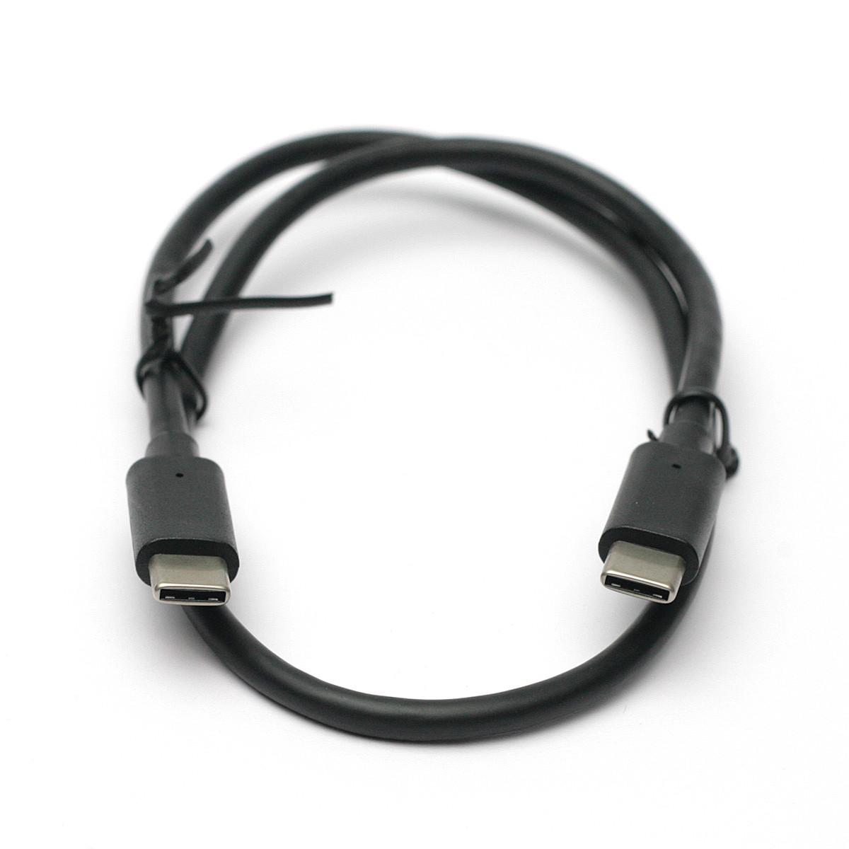 Kабель PowerPlant USB 3.0 Type C – Type C 0.5м