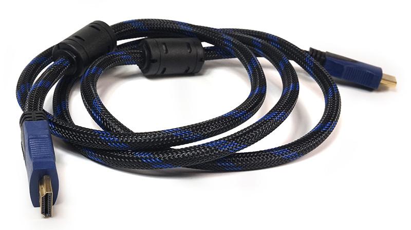 Видeo кабель PowerPlant HDMI - HDMI, 1.5m, позолоченные коннекторы, 1.4V