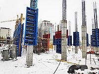 Опалубка для колонн ТЕХНО из универсальных щитов. Производство Россия.