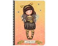 Блокнот А5 в твердой обложке Bee-Loved