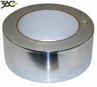 Скотч алюминиевый Rizzolli Scother tape ALU 40 микрон* 50 мм*25 м