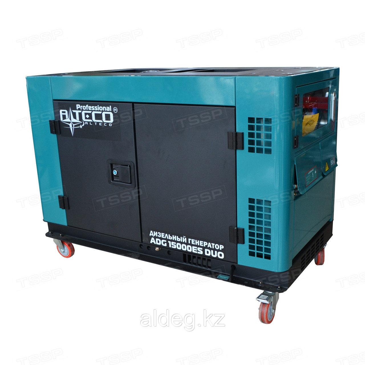 Дизельный генератор Alteco Professional ADG 12000EWS DUO