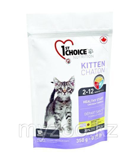 1st Choice Kitten (Фест Чойс) корм для котят 350гр
