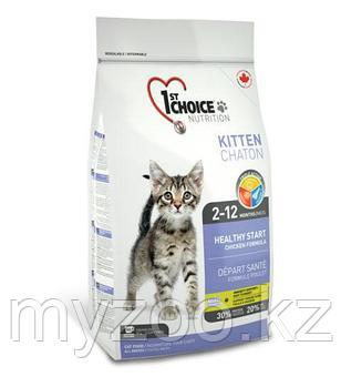 1st Choice Kitten (Фест Чойс) корм для котят 2,72 кг