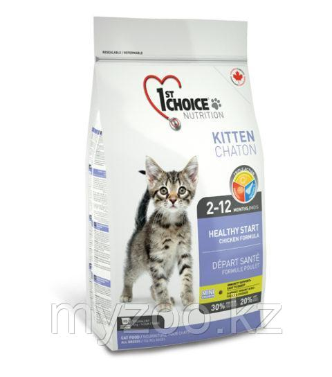1st Choice Kitten (Фест Чойс) корм для котят 5,44 кг