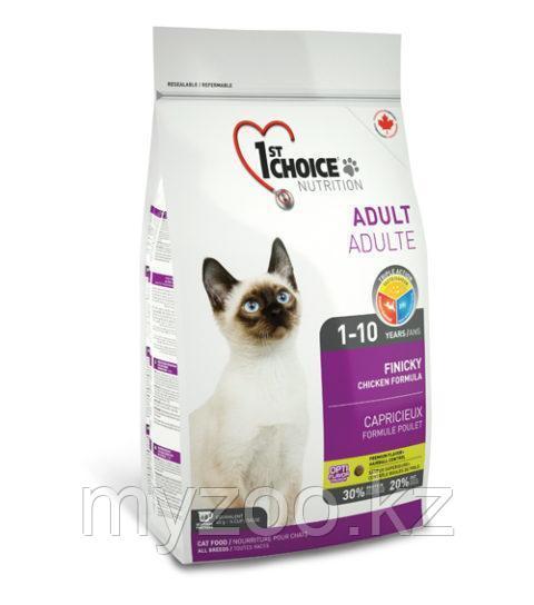 1st Choice Healthy Finicky(Фест Чойс) корм для привиредливых кошек 5,44 кг