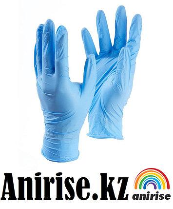 Перчатки XS S М нитриловые медицинские размер, фото 2