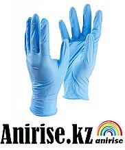 Перчатки XS S М нитриловые медицинские размер