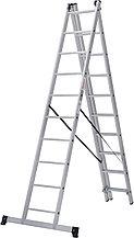 "Лестница трехсекционная 3х10 ""Новая высота"" 1230310"