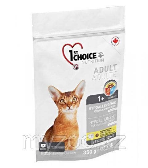 1st Choice Hypoallergenic(Фест Чойс) Гипоаллергенный корм для кошек 350гр