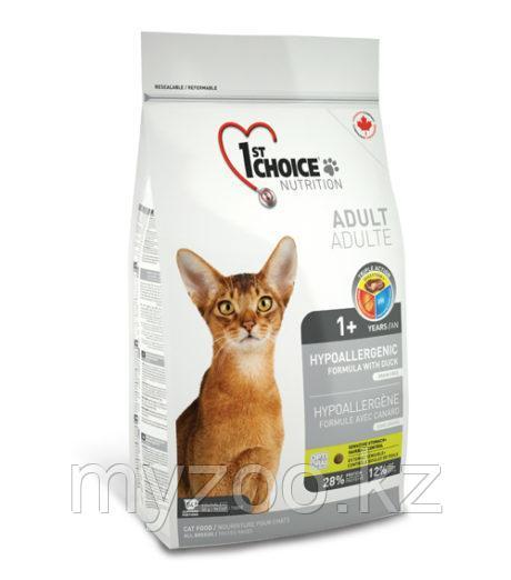 1st Choice Hypoallergenic(Фест Чойс) Гипоаллергенный корм для кошек 2,72кг