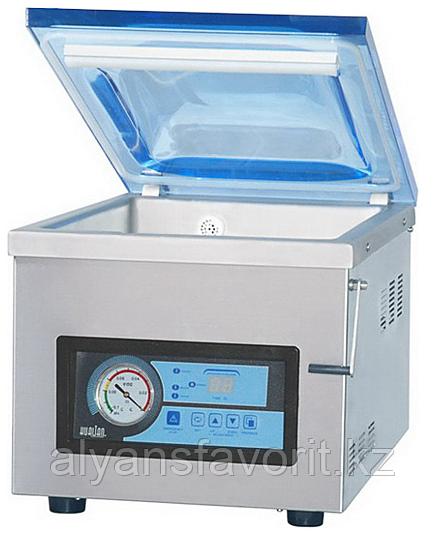 Настольный вакуумный упаковщик HVC-410T/2A (нерж.)
