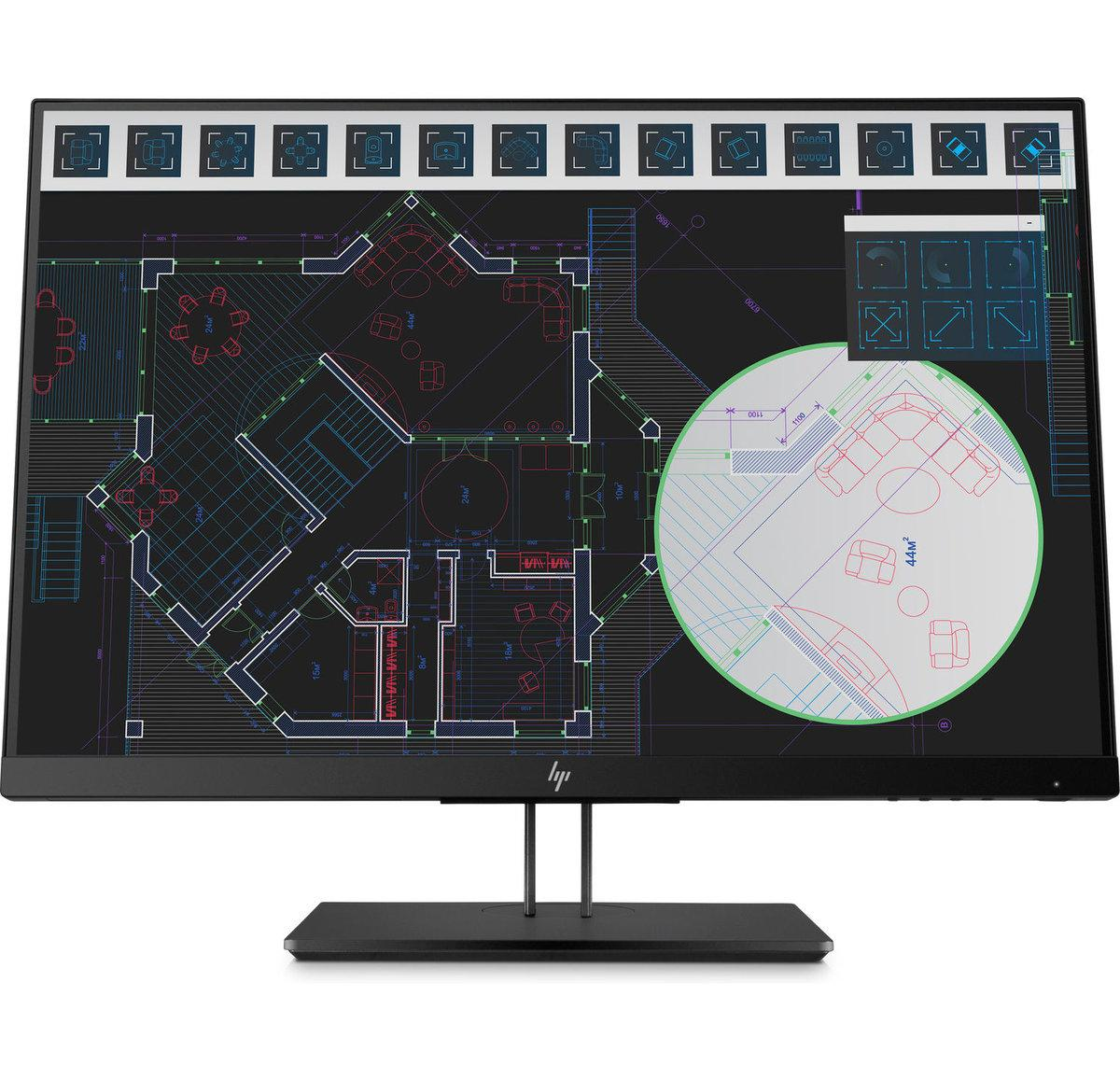 "Монитор HP 1JS08A4 Z24i G2 24"" IPS LED Monitor 1920x1200@60 Hz, 5ms, 0.27 mm, 1000:1 (10000000:1), 178/178, VG"