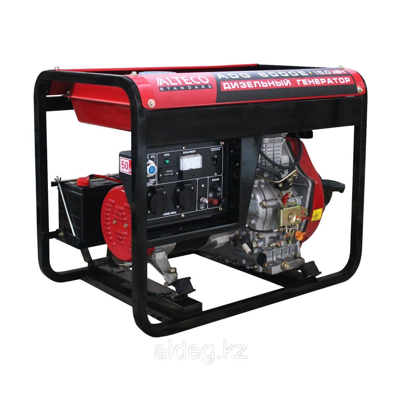 Дизельный генератор Alteco Standard ADG 6000Е