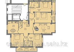 5 комнатная квартира в ЖК Асем Тас 2 159.83 м²