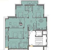 5 комнатная квартира в ЖК Асем Тас 2 162.03 м², фото 1