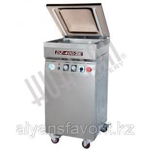 Напольный вакуумный упаковщик DZQ-400/2E (нерж., газ), фото 2