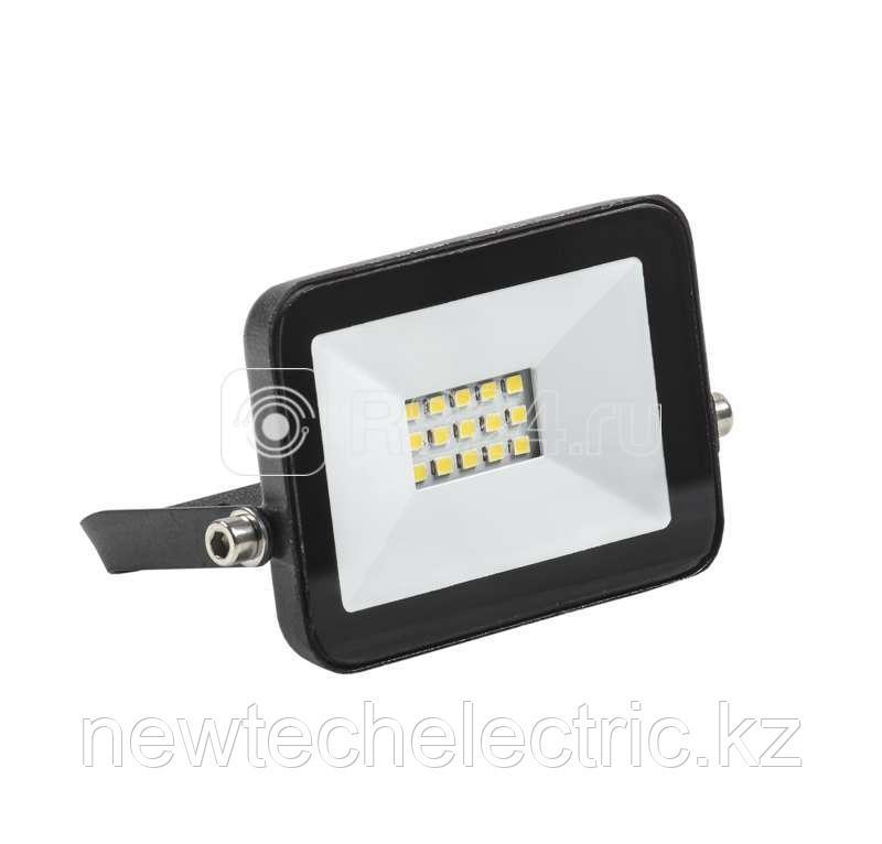 Прожектор светодиодный СДО 06-10 4000К IP65 черн. ИЭК