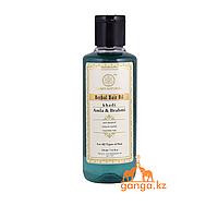 Масло для волос Амла и Брами (Herbal Hair Oil Amla & Brahmi KHADI), 210 мл