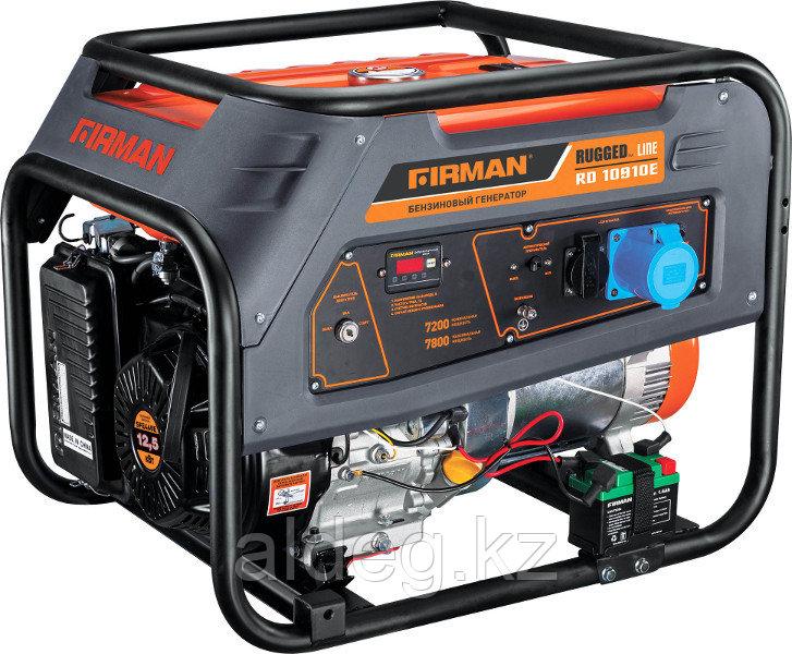 Генератор бензиновый FIRMAN RD10910Е с транспортн.комплектом