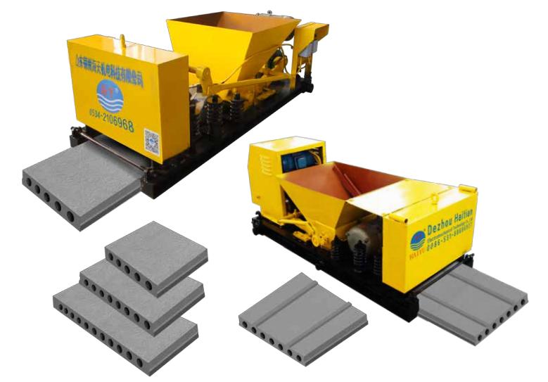 Машина для формовки пустотных плит из предварительно напряженного бетона TW (Haitian)