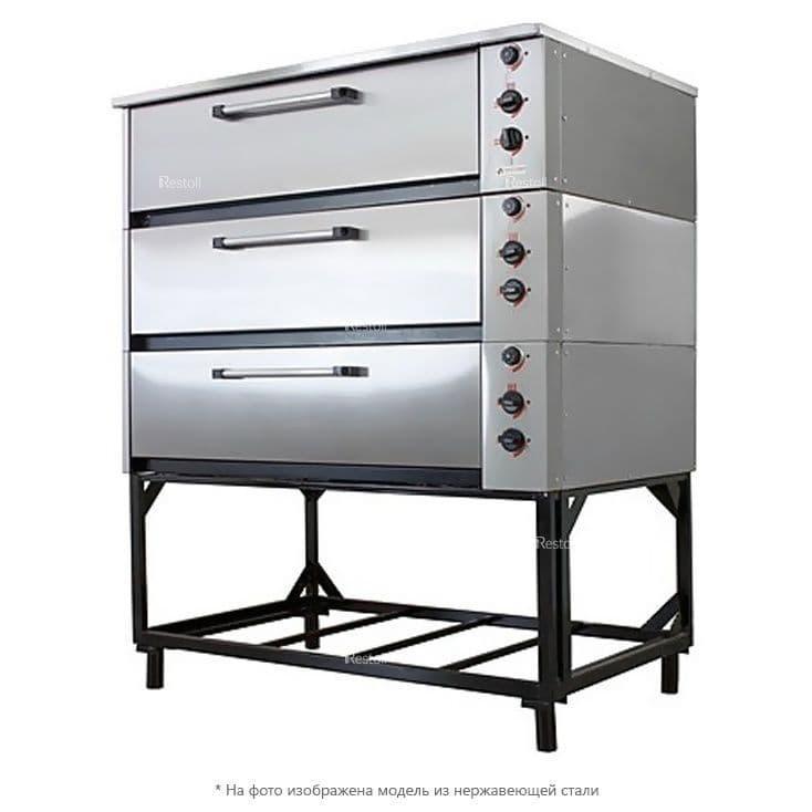 Шкаф жарочно-пекарский Тулаторгтехника ЭШП-3с(у) оцинкованная сталь