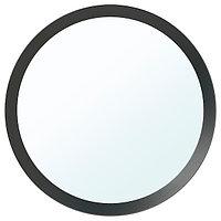 Зеркало ЛАНГЕСУНД темно-серый, 50 см ИКЕА, IKEA, фото 1