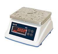 Весы порционные с дисплеем для клиента MAS MSWE-03D