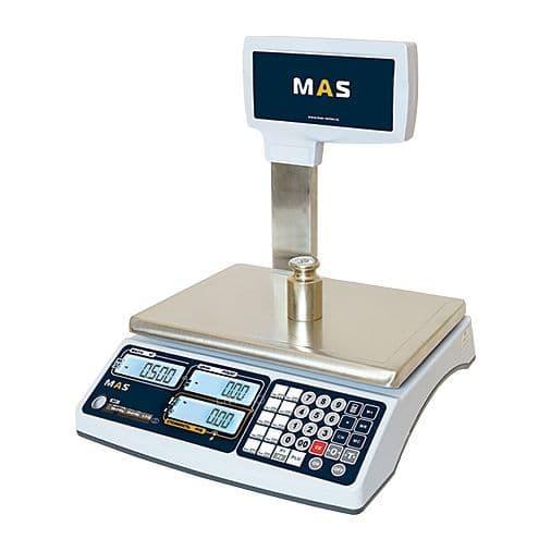 Весы торговые MAS MR1-30P