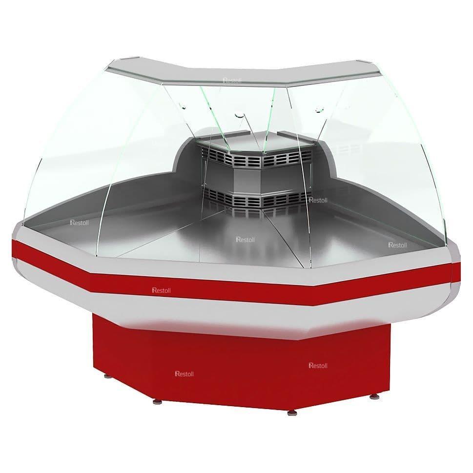 Витрина холодильная Cryspi Gamma-2 OC 90° угол внеш.