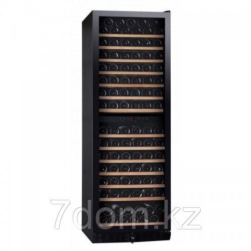 Винный шкаф DUNAVOX  DX-166.428DBK компрессорный