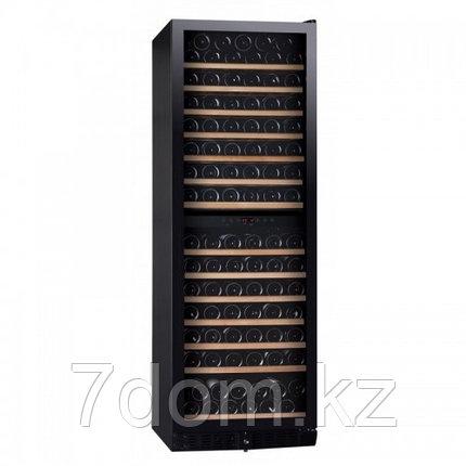Винный шкаф DUNAVOX  DX-166.428DBK компрессорный, фото 2