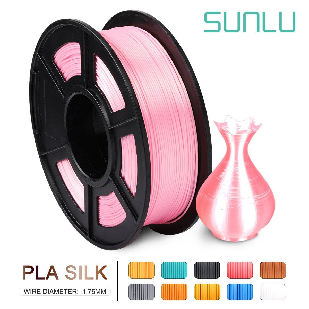 PLA Шелковый Розовый SUNLU  1.75